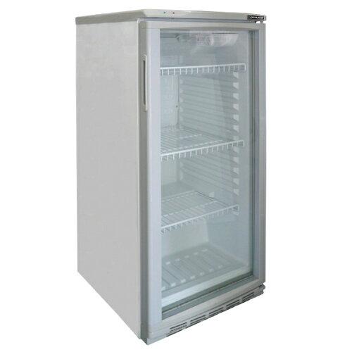 レマコム 冷蔵ショーケース 100リットルタイプ ( 冷蔵庫 小型 )幅475×奥行517×高さ1018(mm)...