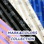 【オックス】MARK&COLORSCOLLECTION<ストライプロゴ★柄>ルシアン生地布ボーダー