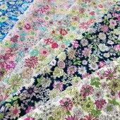 【オックス】クラシックフラワー綿100%約110cm巾入園入学生地布