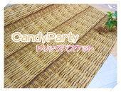 【オックス】CandyPartyキャラメルクランチ【トリックバスケット】カゴかご厚地バッグCARANMEL-CRANCH