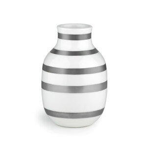 オマジオベースSサイズシルバー/KAHLEROMAGGIO【ケーラー】【オマジオ】【フラワーベース】【スモール】【花瓶】【北欧雑貨】
