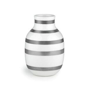 オマジオベースSサイズシルバー/パール/KAHLEROMAGGIO【ケーラー】【オマジオ】【フラワーベース】【スモール】【花瓶】【北欧雑貨】