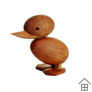 アーキテクトメイド ダックリング(アヒルの子) / ARCHITECTMADE Duckling(正規代理店品 木製オブジェ 置物 アヒル 木製おもちゃ 北欧インテリア デンマーク 送料無料)