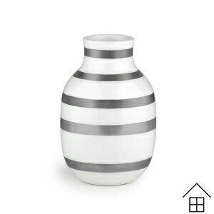 オマジオ ベース Sサイズ 【シルバー】【パール】【KAHLER OMAGGIO】 【正規代理店品】【ケーラー】 【オマジオ】 【フラワーベース】 【スモール】 【花瓶】 【北欧雑貨】【送料無料】