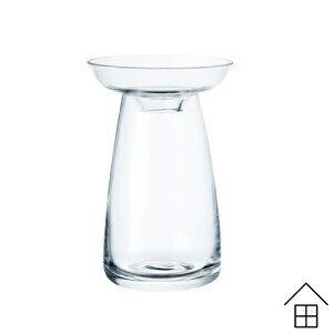 AQUA CULTURE VASE Sサイズ 全2色(クリア/ブルー) 【キント】【フラワーベース】 【スモール】 【花瓶】 【北欧雑貨】【陶器】【花器】【KINTO】【アクアカルチャーベース】