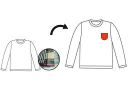 イージーリデザインTシャツ ポケット取り替え