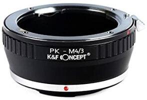 正規代理店KFペンタックスKレンズ-マイクロフォーサーズm4/3マウントアダプターレンズクロス付pk-m43(KFM43)