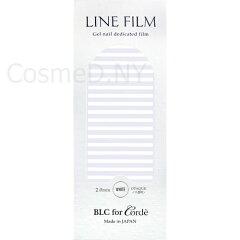 BLC for Corde(ビーエルシーフォーコーデ)ラインフィルム ホワイト 2mm【ネイル…