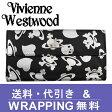 【Vivienne Westwood】ヴィヴィアン ウエストウッド 長財布(小銭入れ付) レディース ブラック 2801V 73V LOGO PRINT NERO ARGENTO【送料無料】