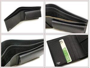 【Cartier】カルティエ財布二つ折り財布(小銭入れ付)カルチェ財布サントスブラックL3000772【送料無料】