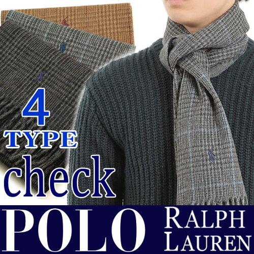 ポロ ラルフローレン マフラー【POLO RALPH LAUREN・...