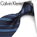カルバンクライン ネクタイ/ナローネクタイ(7cm幅) CK34 【Calvin Klein・カルバンクラインネクタイ・ネクタイ ブランド】 ネイビー/ブルーグレー 【送料無料】・・・