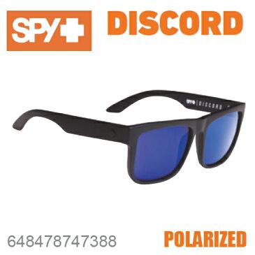 SPY スパイDISCORD ディスコード648478747388MATTE BLACKサングラス メンズ レディース ユニセックス 偏光レンズ スポーツ ファッション オシャレ
