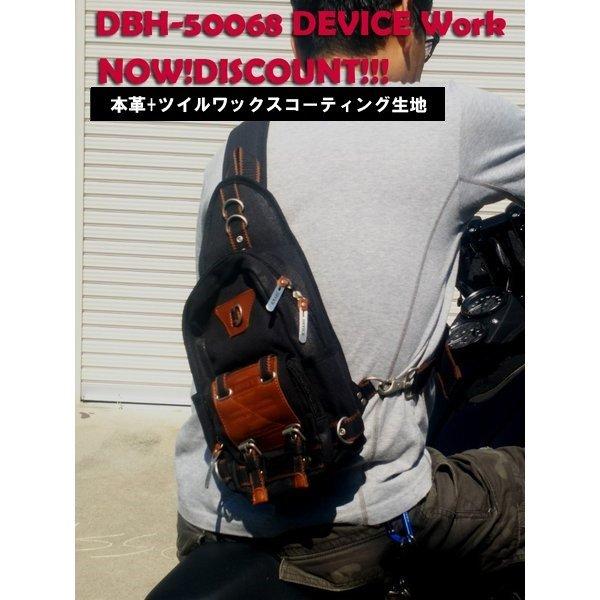 メンズバッグ, ボディバッグ・ウエストポーチ DEVICE DBH50068 GPZ900R