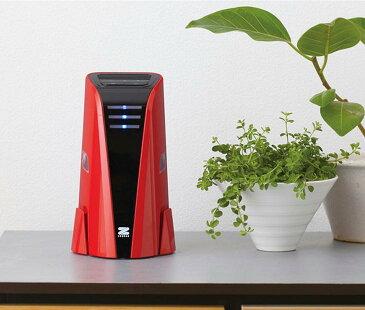 ゼンケン ミニエアクリーナー 空気清浄機 ZF-PA05 レッド ホワイト ポータブル USB電源対応