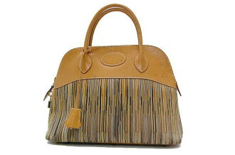 "31. Hermes handbags""boring"" vibrato x D ever-fs3gm with shoulder strap ヴァッシュナチュラル"