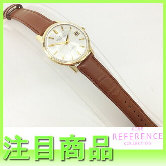 "Citizen Jet オートデーター men's watch 35 stone upholstered in gold 14 K automatic ジェットローター with antique ""response."""