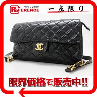 CHANEL lambskin matelasse rucksack black 》 fs3gm for 《