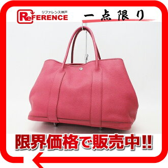 HERMES Hermes garden party PM tote bag / bougainvillea O ever-changing beauty products used