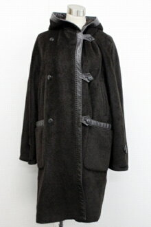 36 long coat dark brown beauty articles 》 fs3gm with Max Mara first line alpaca mixture Lady's food for 《