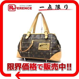 "Used LOUIS VUITTON Louis Vuitton Monogram ""rivet bag"" handbag M40140"