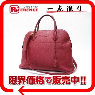 """クシュベルルージュヴィフゴールド metal fittings X 刻 》 fs3gm with 35 HERMES """"ボリード"""" handbag shoulder straps for 《"""