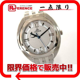 """Seiko credor signo spring drive men's watch hand rolled GCLH983 as good as new """"response.""""-fs3gm"""
