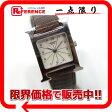 HERMES エルメス ラムサス Hウォッチ レディース腕時計 ベルト社外品 SS/ブラウン HH1.210 【中古】
