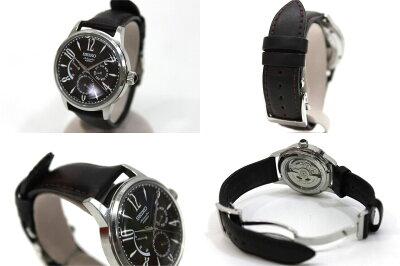【SEIKO】セイコーメカニカルメンズ腕時計パワーリザーブデイデイト自動巻き6R21-00A0【】《対応》【_包装】【送料無料】