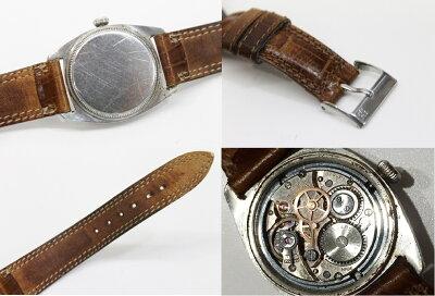 【ROLEX】ロレックスオイスタープレシジョン手巻きSSメンズ腕時計4647アンティーク【KK】【】【_包装】《対応》【送料無料】