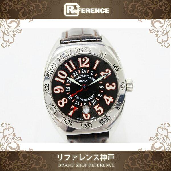 FRANCK MULLER フランクミュラー トランスアメリカ ワールドワイド メンズ腕時計 SS 自動巻き 2000 WW 【中古】:ブランドショップ リファレンス