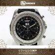 BREITLING ブライトリング ベントレー 6.75 クロノグラフ メンズ腕時計 SS 自動巻 替えベルト付【中古】 KK