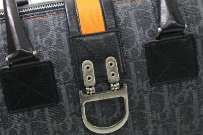 DIORディオールフライトシリーズミニボストンハンドバッグブルー×オレンジKK【】福袋