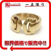 Cartier カルティエ 2C ブークルセ リング 指輪 K18YG 750 #46 仕上げ済み 新品同様【中古】KK