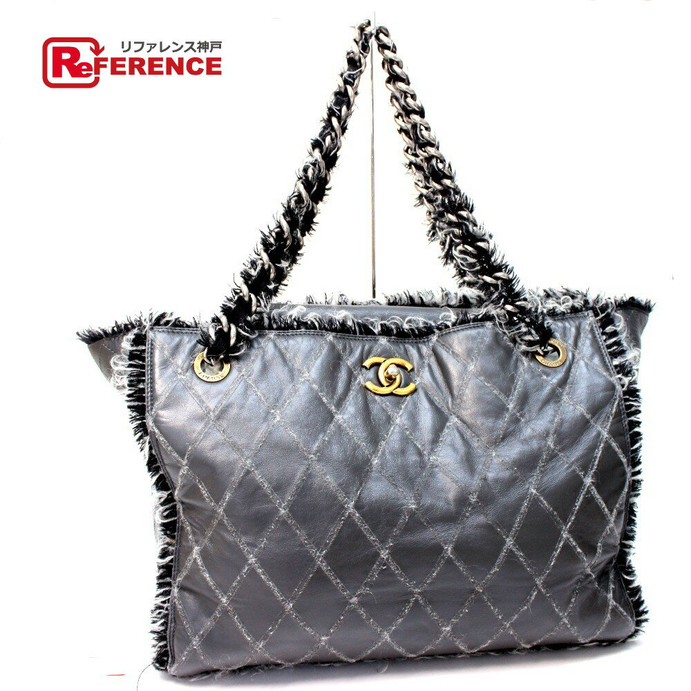 CHANEL quilted tote CHANEL