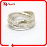 TIFFANY&Co. ティファニー リング インターロッキング サークル 1837 リング・指輪 SV925 9号 レディース【中古】