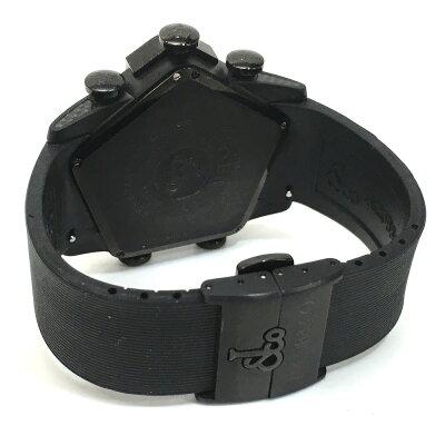 JACOB&COジェイコブJC-GR5-19ファイブタイムゾーンG5グランド腕時計SS/ラバーメンズ【】