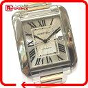 CARTIER カルティエ W5310006 タンク アングレーズ XL TANK ANGLAISE 腕時計 SS/スピネル/18KPG シルバー メンズ【中古】