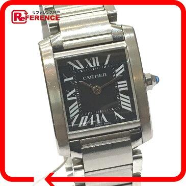 CARTIER カルティエ W51026Q3 タンクフランセーズSM レディース腕時計 アジア限定モデル 腕時計 SS シルバー レディース【中古】