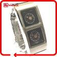 SEIKO セイコー Y15W-5A60 デュアルタイム レディース腕時計 ALBA AKA アルバ 腕時計 SS シルバー レディース【中古】