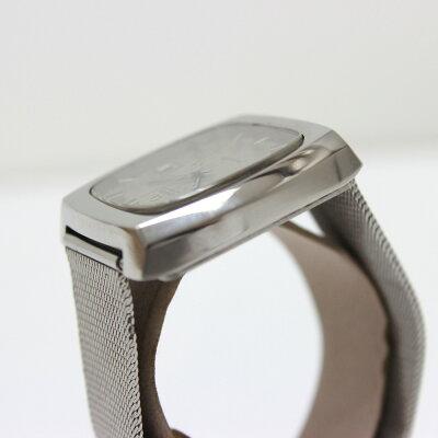 OMEGA オメガ  自動巻き シーマスター スクエア デイト 腕時計 SS シルバー メンズ【】