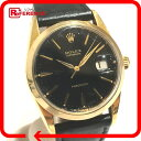 ROLEX ロレックス 6694 メンズ腕時計 オイスターデイト 腕時計 GP/レザー ゴールド メンズ【中古】