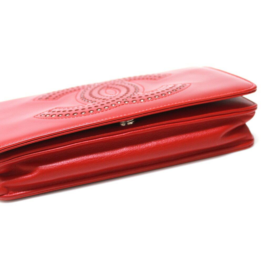 b813f43e711b CHANEL シャネル A48115 チェーンウォレット 財布バッグ ストラスCC 長財布(小銭入れあり)