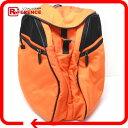 GUCCI グッチ 200947 バックパック メンズ レディース Wポケット リュック・デイパック ナイロン オレンジ ユニセックス【中古】
