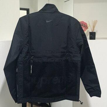 Supreme シュプリーム トレイル ランニング ジャケット 17FW Supreme Nike Trail Running Jacket Black シュプリーム×ナイキ ナイロンジャケット ブラック メンズ 未使用【中古】