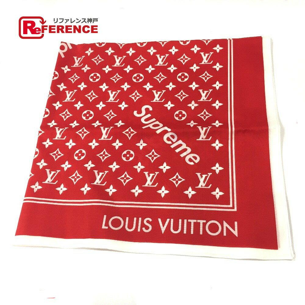 ハンカチ・ハンドタオル, バンダナ LOUIS VUITTON MP1888 17aw Supreme Louis Vuitton Monogram