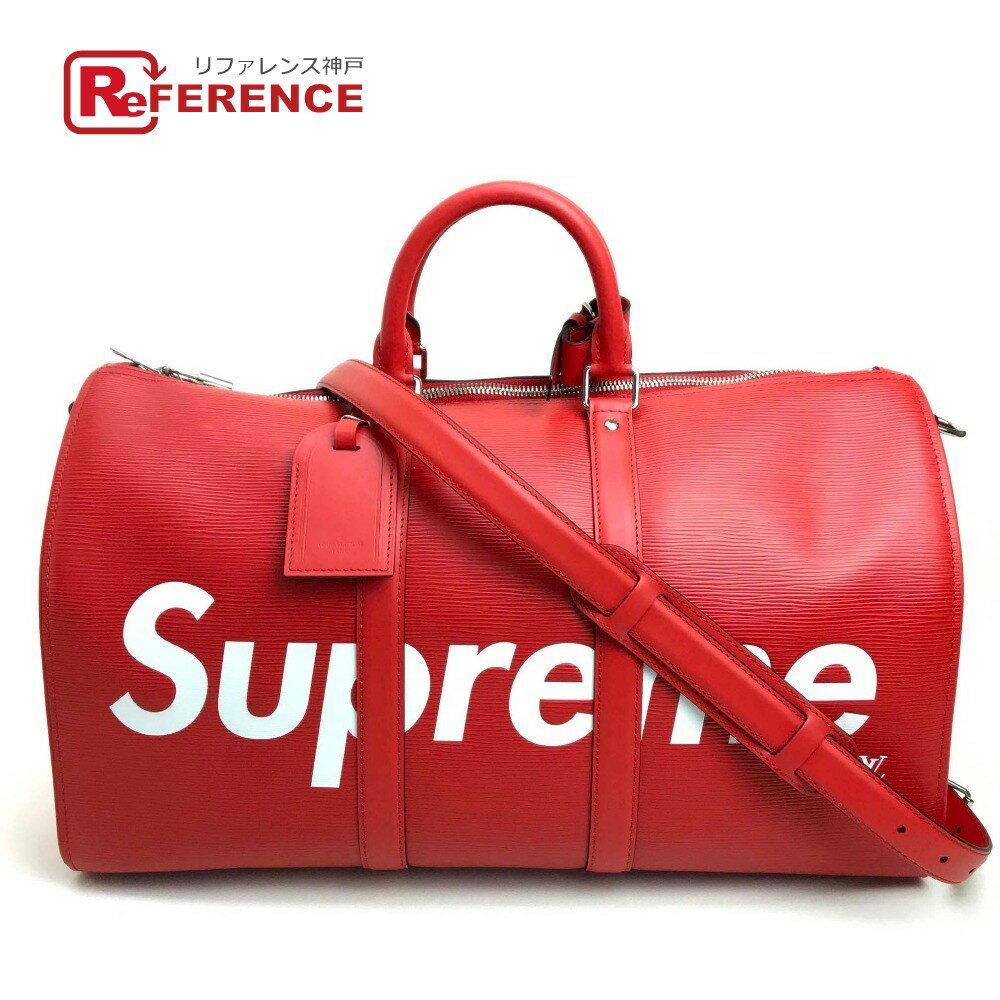 レディースバッグ, ボストンバッグ LOUIS VUITTON M53419 17aw Supreme Louis Vuitton KEEP.45 BA.SP EPI DWT R 45