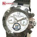 BVLGARI ブルガリ SC38WSV (SCB38S) メンズ腕時計 FIFA100周年記念モデ ...