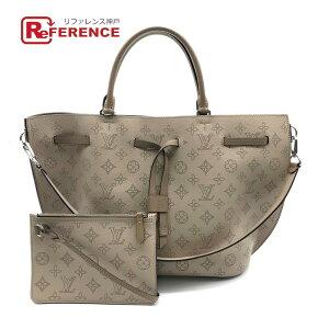 LOUIS VUITTON Louis Vuitton M54403 2WAY Bag Girolatta Mahina Tote Bag Mahina Leather Galle Beige Ladies Unused [Used]