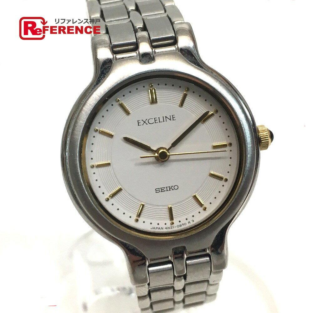 腕時計, レディース腕時計 SEIKO 4N21-0430 SS